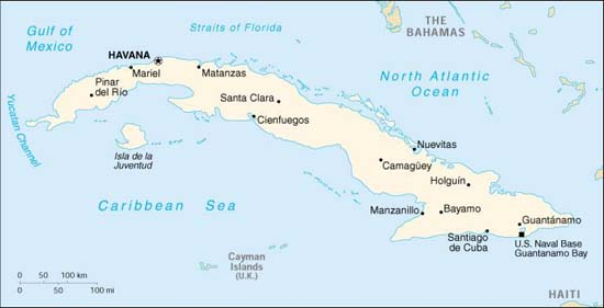 Havanna Kuba Karte.In 2 Wochen Von Havanna Nach Santiago De Cuba